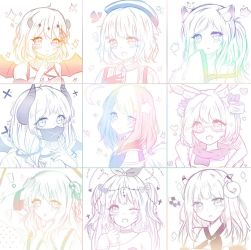 OC Sketches by Hinamico