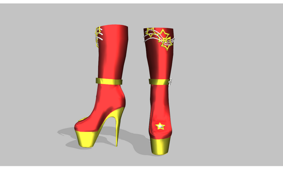 69d8889e6fcbc8 amiamy111 486 61 MMD super high heel boots by amiamy111