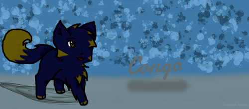 Congo Goes on a Walk xD by CongotehJackal