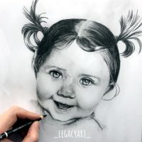 Baby Girl Complete by LegacyArt86