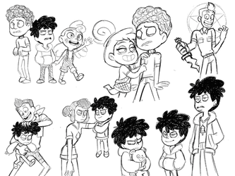 Camp Camp Doods 1 by AllforCartoons