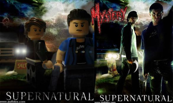 Supernatural Season 1 Lego by MMystery92