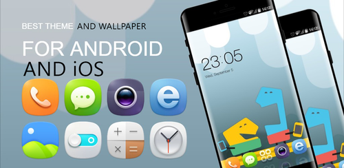 HD Theme and Wallpaper App for Android and iOS by hs1987