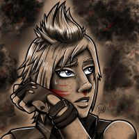 Battle Aftermath Series - Prompto by Lindsay-N-Poulos