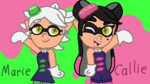 It's Teh Squid Sisters! by 4swords4ever