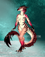 Dragon Anthro Design Auction #1 [CLOSED] by Trioza