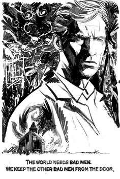 True Detective Commission by thisismyboomstick
