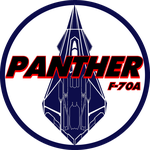 BSG Style F-70 Panther Insignia by viperaviator