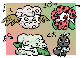 PKMNN - Cottone / Scatterbug Clutch (Closed!) by Thalateya