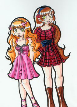 SoS: Elise and Minori by Miss-Mae
