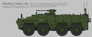 MA9A3 WMAV APC Production Prototype [Graphic] by SixthCircle