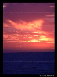 Ocean Sunset by TVD-Photography