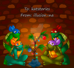 TMNT 2016 Christmas Wish by katstories