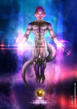 freeza Fourth And Final Form by Grapiqkad