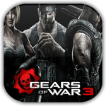 Gears of War 3 Game Icon by Wolfangraul