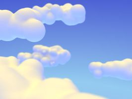 Just Clouds by d3m0ni0