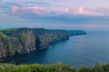 Cliffs of Moher Sunset by TarJakArt