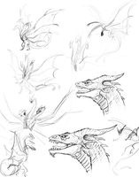 Ghidorah Thumbnails by brianboyster