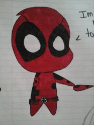 Chibi Deadpool by popularca2