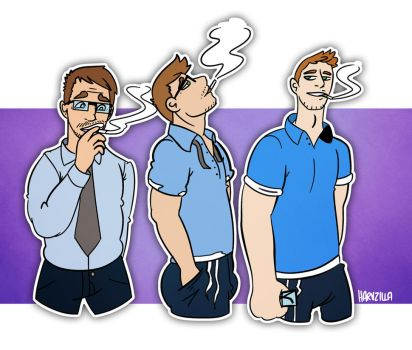 Passive Smoking by harvzilla