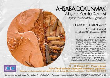 TOUCHING THE WOOD, Woodcarving Exhibition by ayhantomak