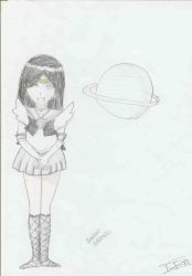 Sailor Saturn by FunFunXD
