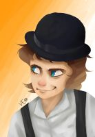 Alex DeLarge by SoapyPnutwaffle