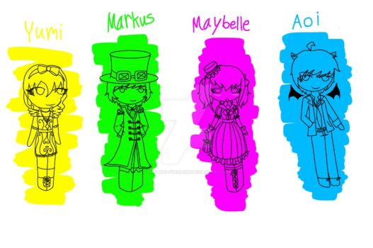 Adoptables [STILL OPEN] by The-MAD-Overlord
