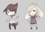 Fox and Bunny Adopts [CLOSED] by Vesodopt