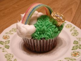 St. Patrick's Day Cupcakes by Afina79