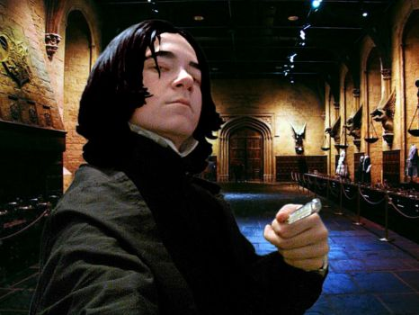Me as Severus Snape by EugenBehm