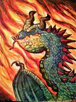dragon by onlygoodart