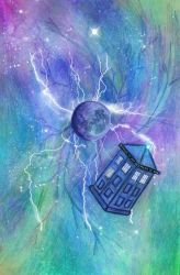 TARDIS by eugeal