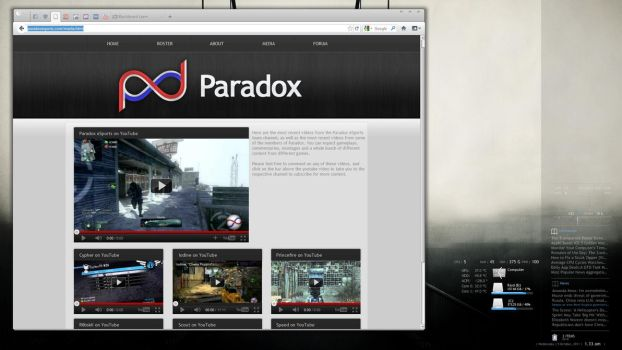 Paradox eSports Desktop by SpeedX07