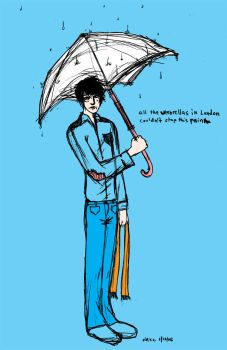 All the Umbrellas in London by chemicalflowers