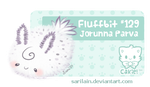 Fluffbit #129 - Sea Bunny by Sarilain