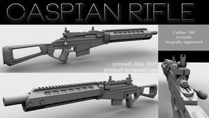 Caspian Rifle by primnull
