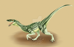 Compsognathus by Miss-Nymph