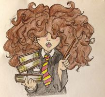 Bushy Haired Know-it-all by DidxSomeonexSayxMad