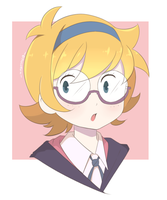 Little Witch Academia - Lotte by chocomiru02