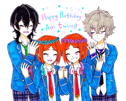 EnStars: 2wink Birthday 2017 by Shichiro-chan