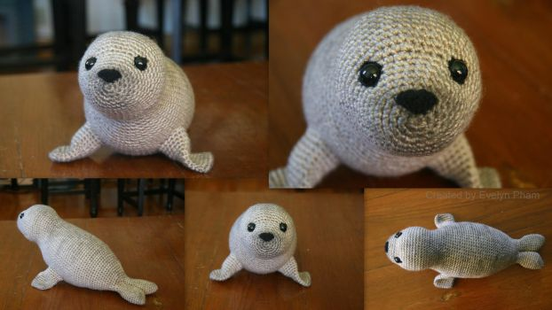 Selkie/Seal by aphid777