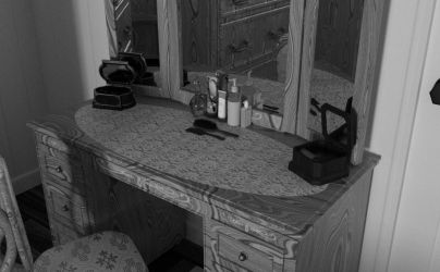 Dressing Table by KCRileyGyer
