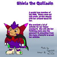 Deviant Stars: Shiela the Quilladin of the PSSL
