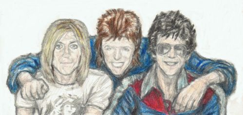 Iggy, Ziggy and Lou by gagambo