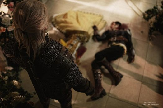 Cosplay - The Witcher: Blood and Wine by HydraEvil