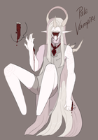 Xynthii Halloween Advent 2016: Day 24: Vampire by ObsceneBarbie