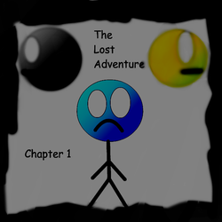 The Lost Adventure Chapter 1 Title Screen by JerrisonGamerYT