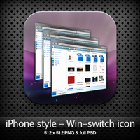 iPhone style - Win-switch icon by YaroManzarek