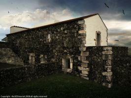 stone house archviz by the3d3mocrat